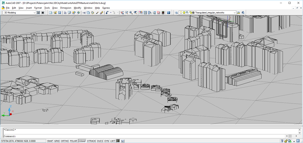 3D Modelling – GEOINFO